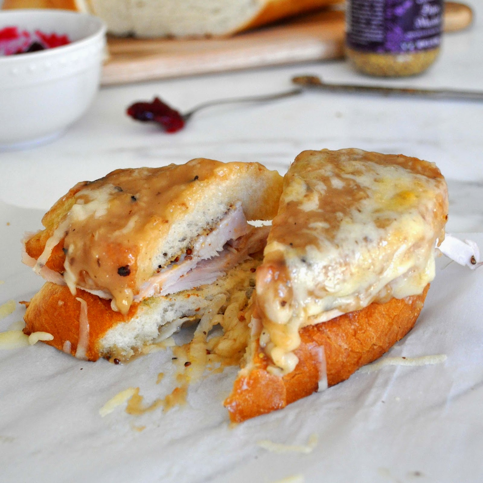 Broiled Turkey, Ham, and Cheese Sandwiches recommend