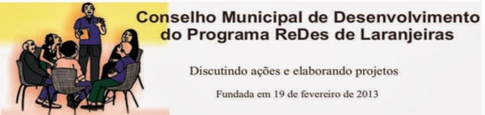 Conselho Municipal de Desenvolvimento do Programa Redes