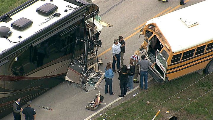 School Bus Motorhome Accident A Close Call Law Office