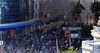 مقتل لاعبين من نادي المريخ البورسعيدي, خلال أحداث الشغب الحالية في بورسعيد