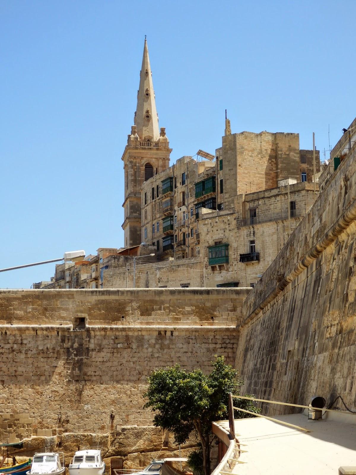 Town Walls at Valletta Malta