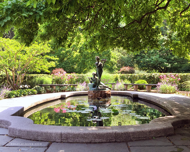 Burnett Fountain Central Park Conservatory Garden