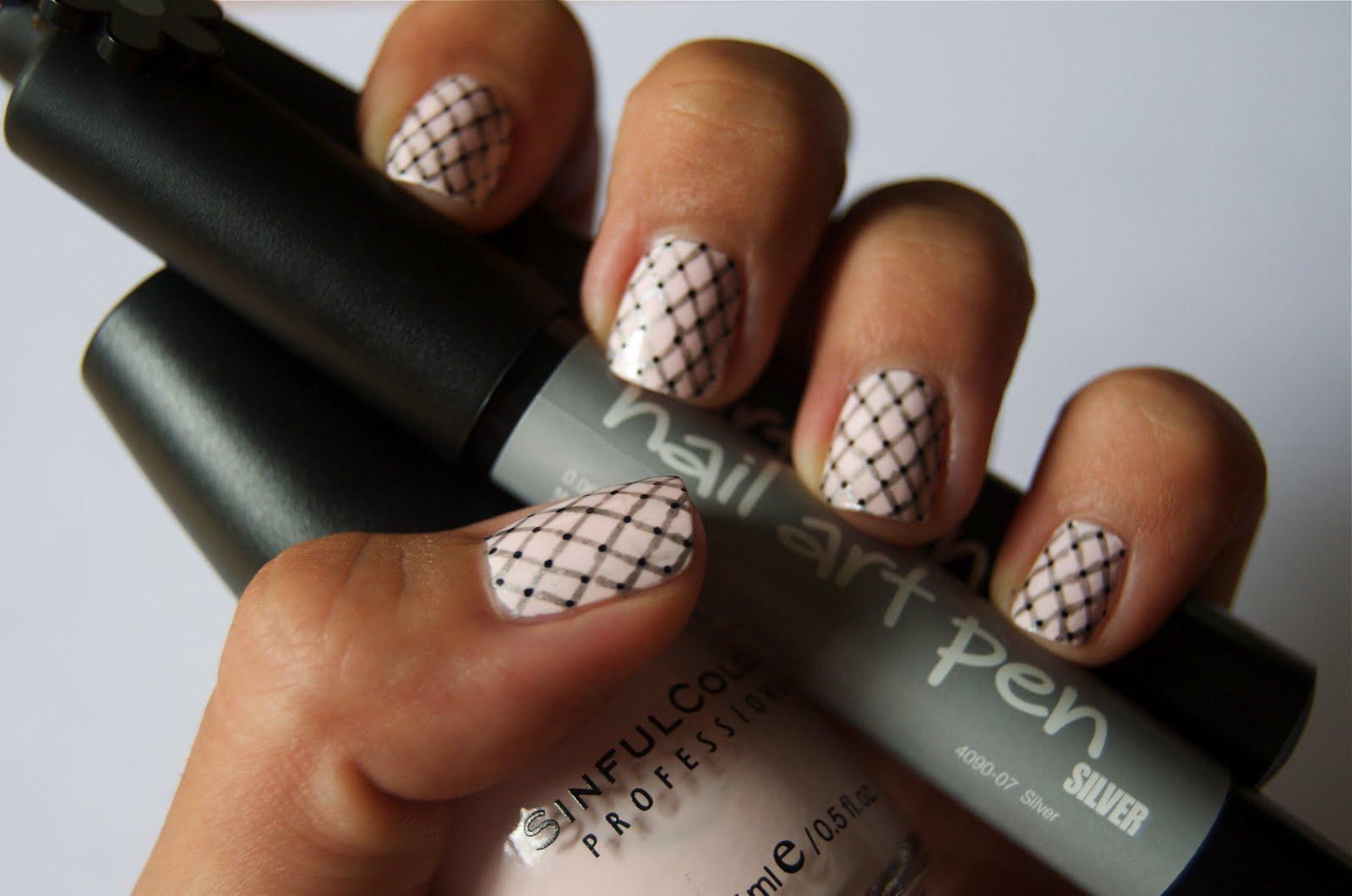 Maryam Maquillage: Nail Art: Ballet Fishnets