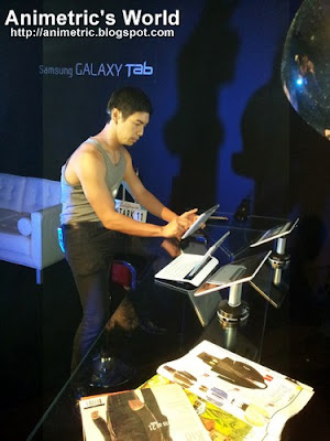 Samsung Galaxy Tab demo and presentation
