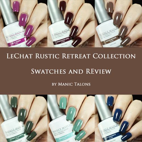 LeChat Rustic Retreat Collection Swatches and Review