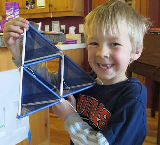 triangular kite