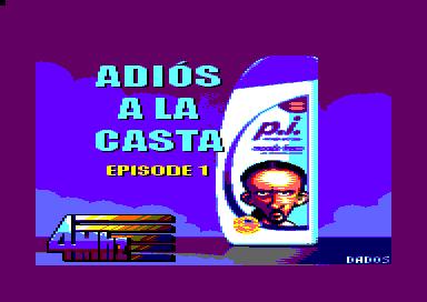"""Ponte a los mandos de """"Coleta Morada"""" en Adios a la casta, ya disponible para Amstrad CPC"""