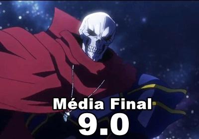 Média final: 9.0