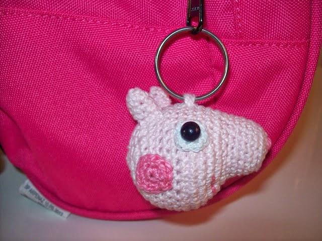 Peppa Pig Amigurumi Llavero : Patron Peppa Pig amigurumi Las alas de Campanilla ...