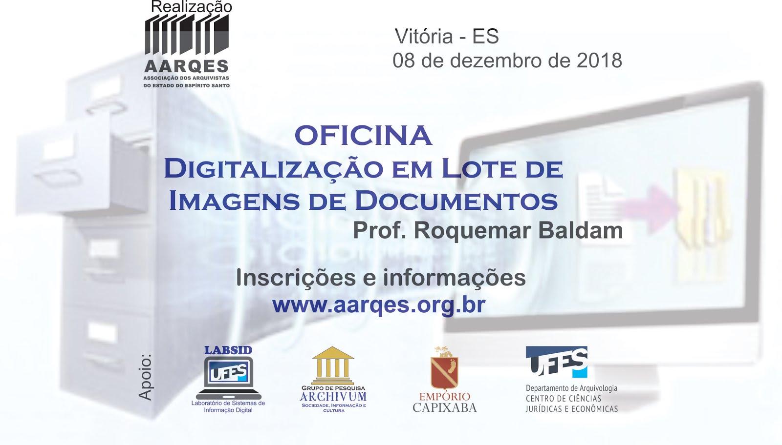 Oficina Digitalização de Documentos 2018