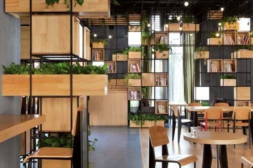 Natural Home Cafe Design Ideas By Penda