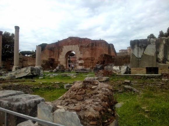 Fori Imperiali Rome Italy