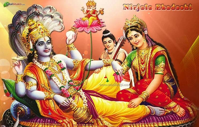 Lord Vishnu - Nirjala Ekadashi