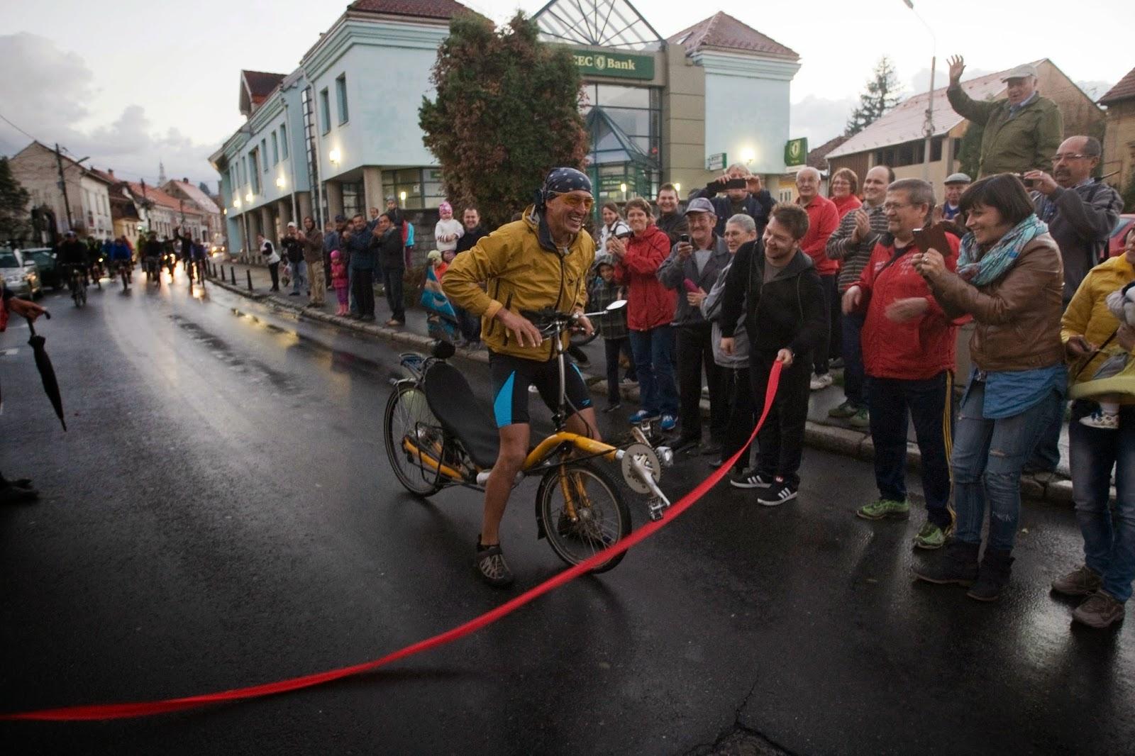 Szabó Zoltán, kerékpár, bringával a Föld körül, Székelyudvarhely,