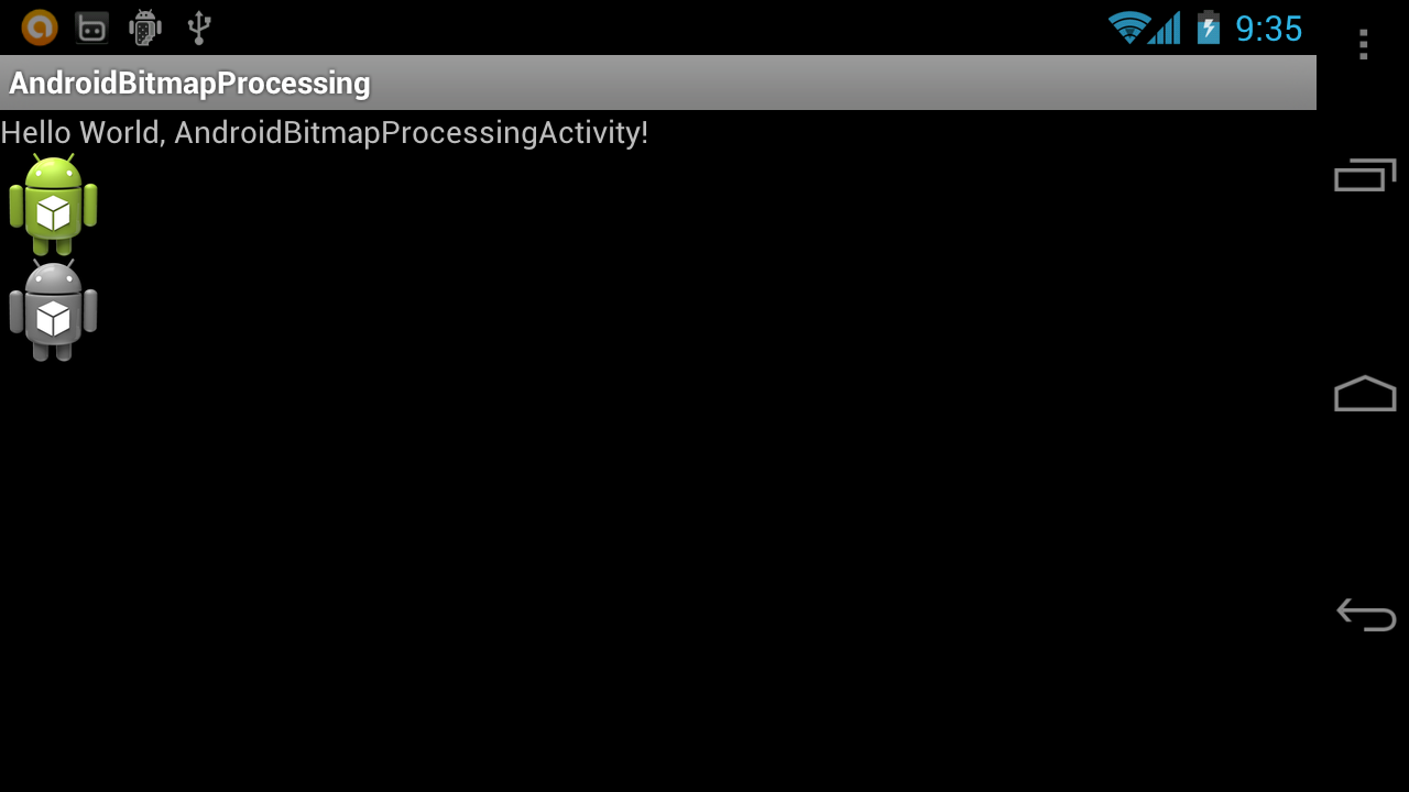 Android Coding: Convert bitmap from color to black and white