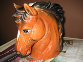 antique horsehead vase from Tawas