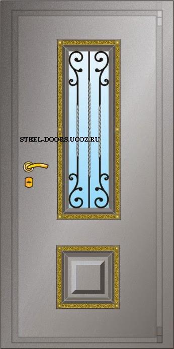 российский металлические двери