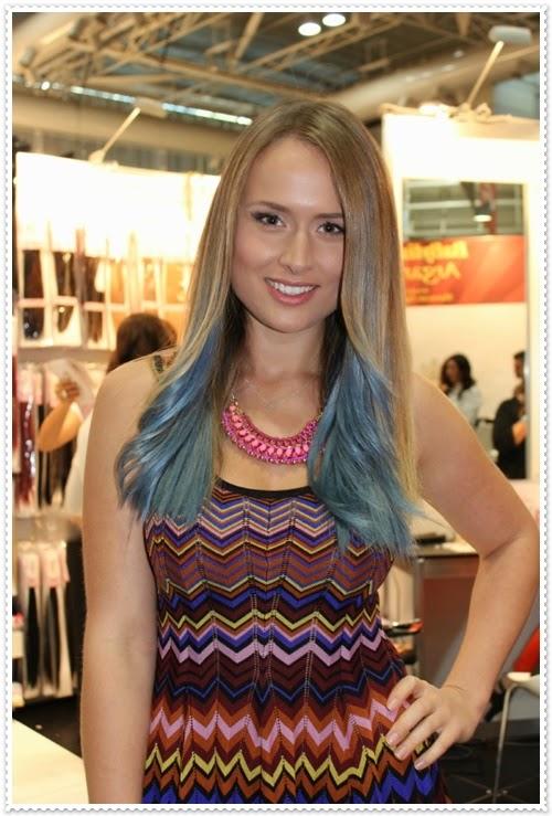 Neon Haarfarben und Modelle 2014