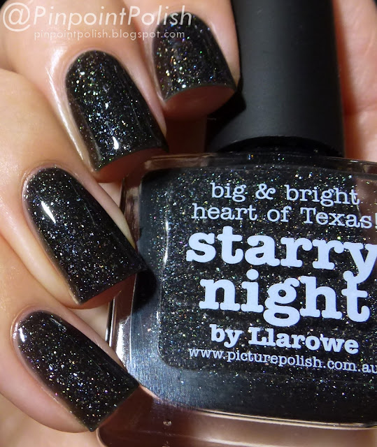 Starry Night, Picture Polish, Llarowe, swatch