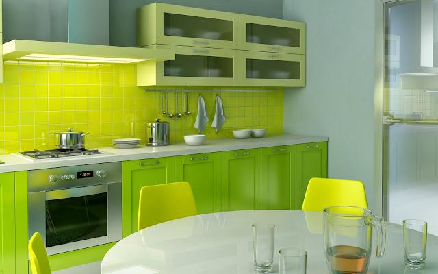 Tips Memilih Warna Cat Minimalis : Contoh Desain Warna Cat Ruang Dapur