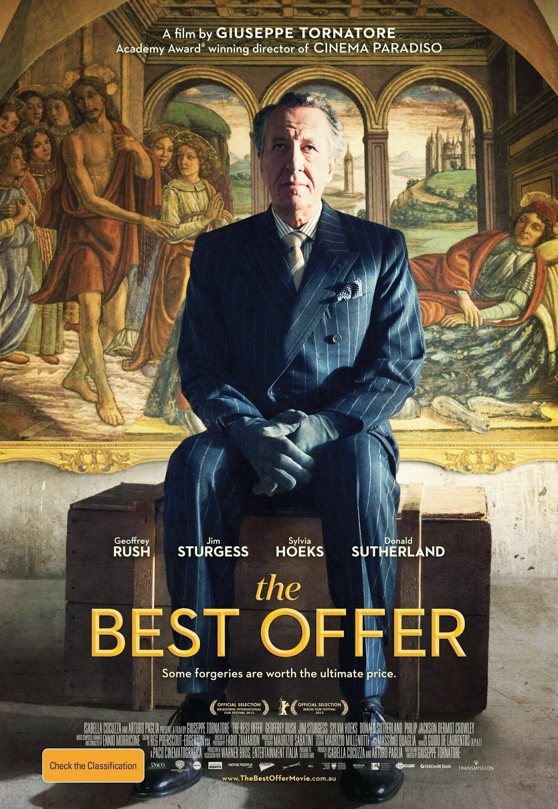 Italian Romantic Film : Watch The Best Offer 2013 online