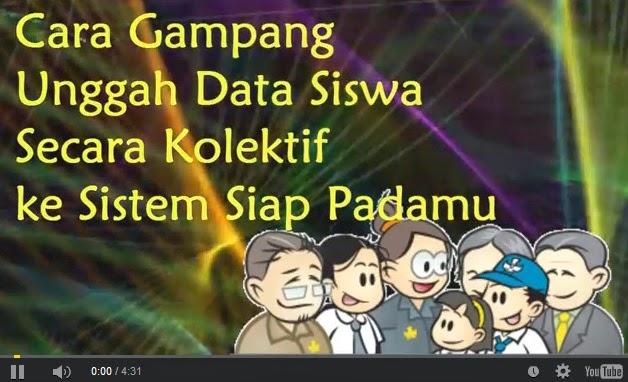 Cara Upload Data Siswa Secara Kolektif