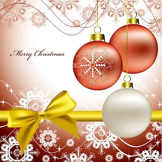 美しいクリスマス ボールの背景 christmas  decorative balls background イラスト素材1