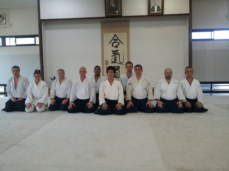 Hombu Dojo 2012