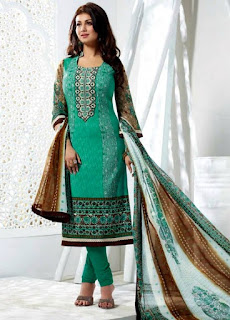 Sea Green Inspired New Shalwar Kameez