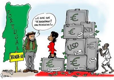 Clã Eduardo dos Santos compra Portugal com petróleo de sangue roubado ao Povo portugal