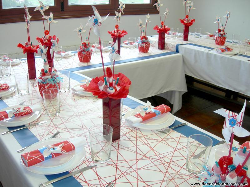 Boda doble foro organizar una boda - Adornos mesa comunion ...