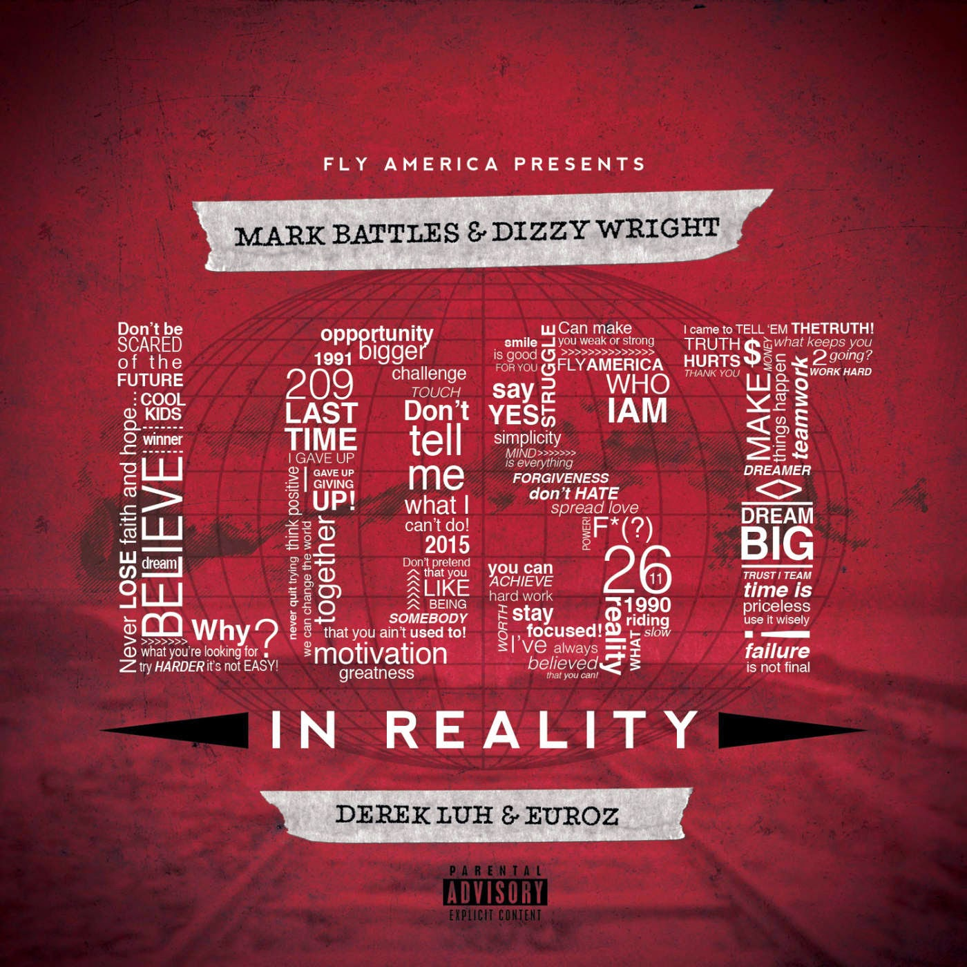 Mark Battles & Dizzy Wright - Lost In Reality Cover