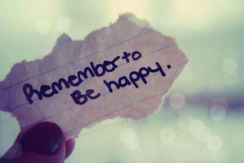 Od nastawienia człowieka zależy czy szczęście przyciąga, czy od niego ucieka...