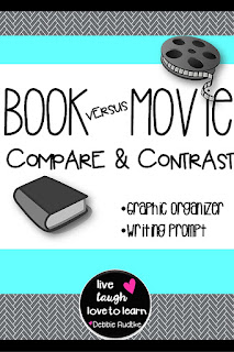 Compare contrast essay book vs movie