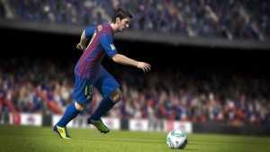 FIFA 13 se inspira en Messi