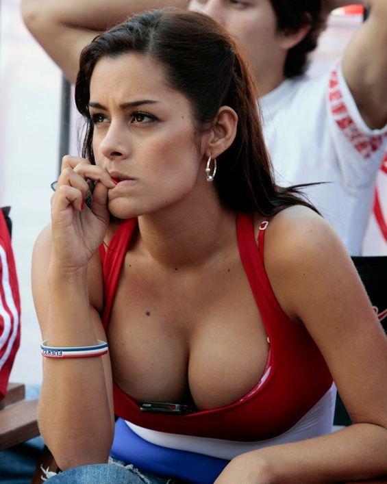 Aksi Larissa Riquelme Di Piala Dunia 2010