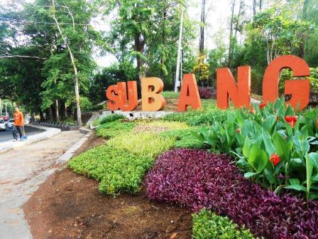 Subang Miliki Beberapa Taman Cantik