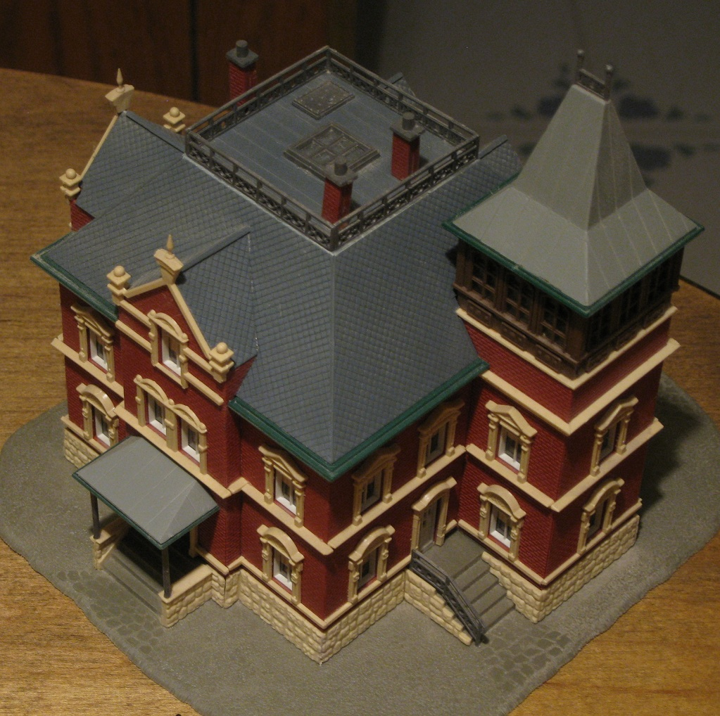 Build a model victorian house