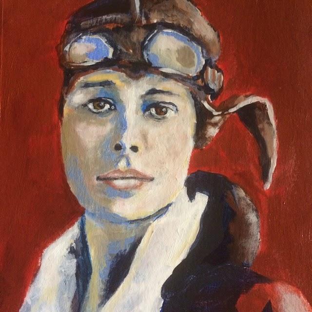 Dorothy Parker, Painting Galia Alena