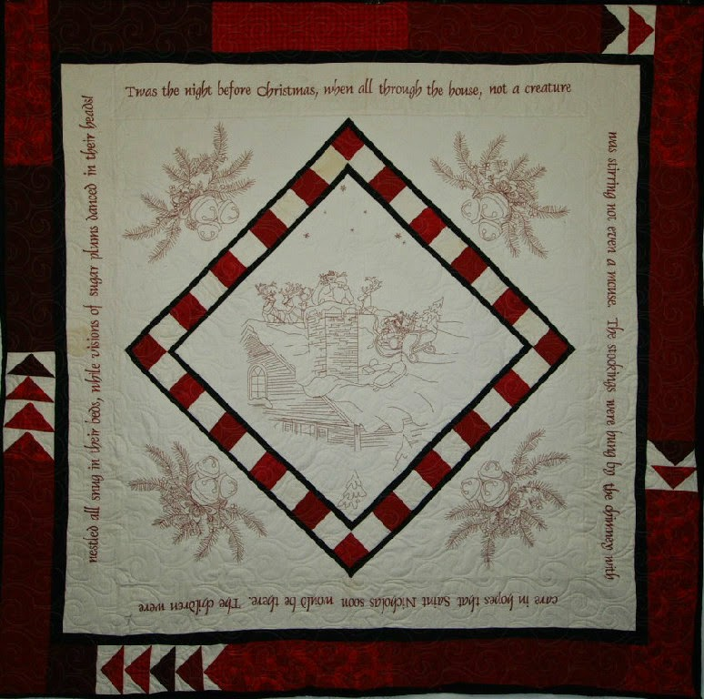 Norma Cannon's Christmas Quilt