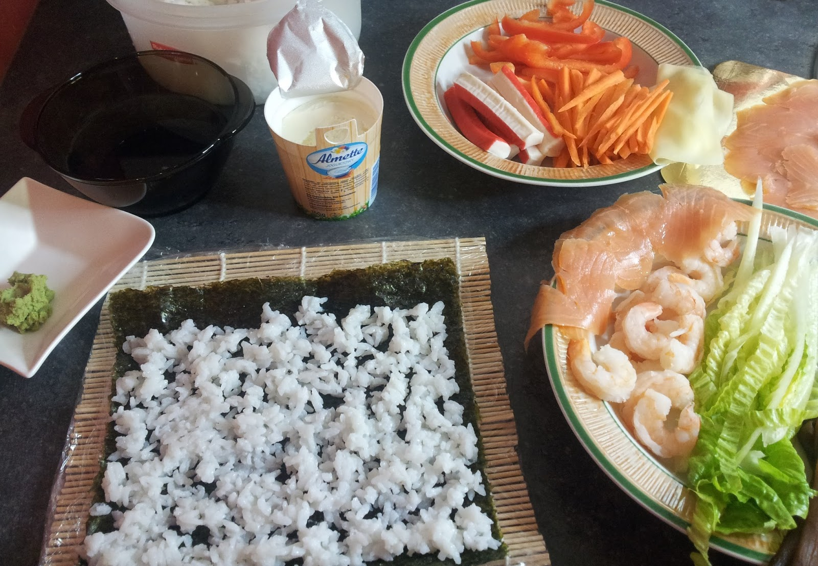 produkty do sushi