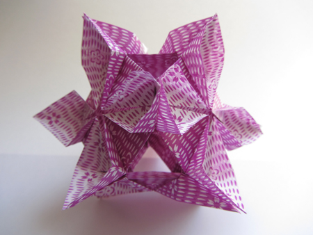 Origami instructions origami kusudama diamond flower check out our origami kusudama diamond flower instructions mightylinksfo