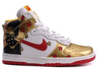 Custom Stars Nike Dunks Jabee Shoes High Top