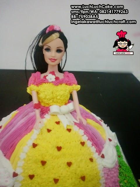 Kue Tart Ulang Tahun Princess daerah surabaya - sidoarjo