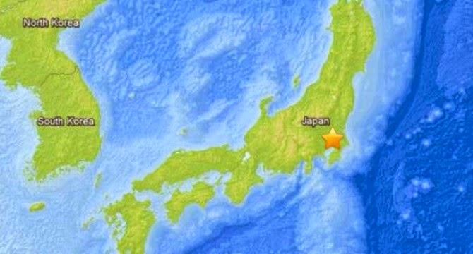 SISMO DE 5,8 GRADOS SACUDE JAPON, 22 DE OCTUBRE 2014