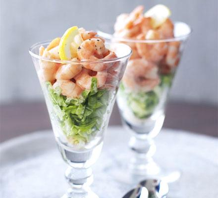 Schottlandreisen rezepte mit und ohne whisky for Mini prawn cocktail canape