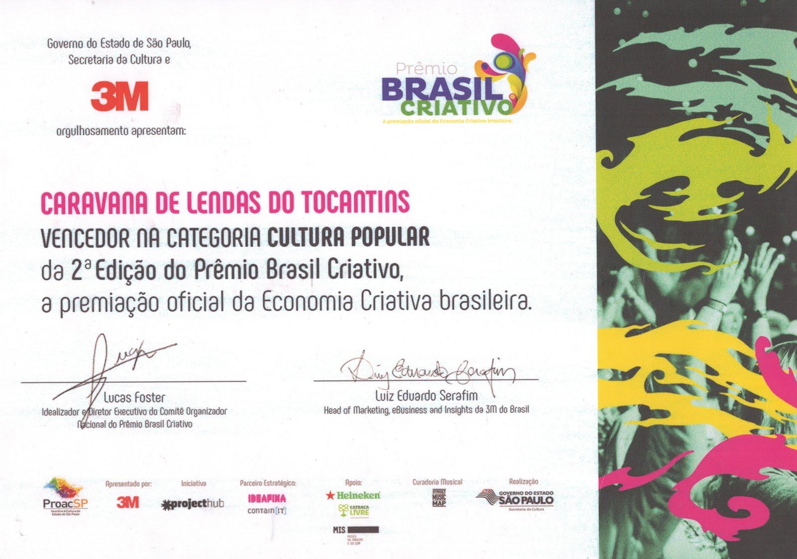 Prêmio Brasil Criativo 2016