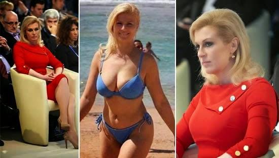 A presidenta da Croácia é a mulher mais preparada do mundo