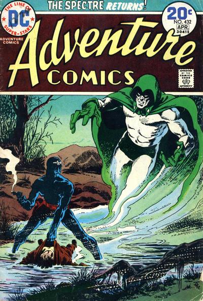 Adventure Comics #432, Jim Aparo, the Spectre