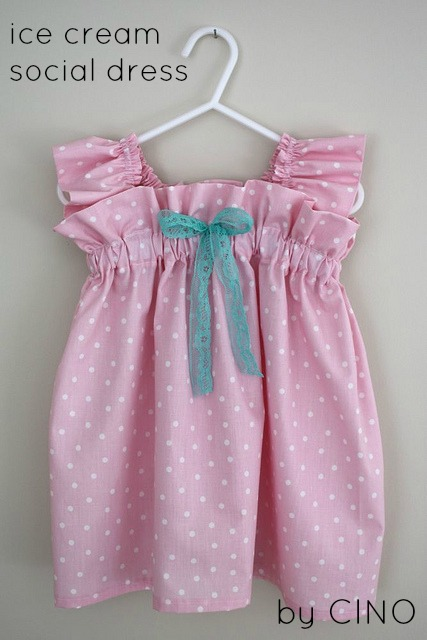 Простые платья для девочек своими руками фото